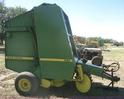 john deere 430 round baler item h6300 sold october 30 a