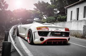 Audi R8 Matte Black - official audi r8 v10 spyder by regula tuning gtspirit