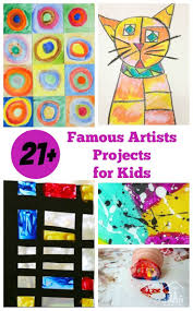 25 best famous artists for kids ideas on pinterest kandinsky
