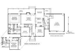 Modern Architecture Floor Plans 1 Story Modern Home Plans