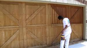 garage door staining dallas ft worth restoration fences