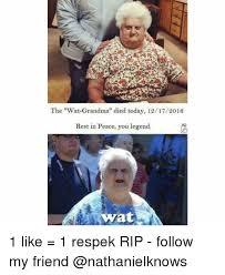Wat Meme - 25 best memes about wat grandma wat grandma memes