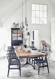 esszimmer weiß weiß esszimmer industrial design mit holz tisch inklusive