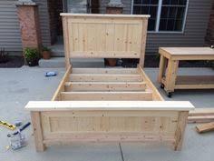 Farmhouse Bed Frame Plans 80 Diy King Size Platform Bed Frame Diy Pinterest King Size