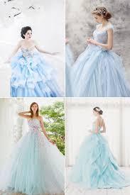 light blue wedding dresses the incomparable blue wedding dress milanoo