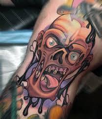 tattoo ideas zombie 50 rad tattoos for men radical body art design ideas