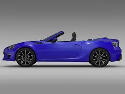 subaru brz convertible price subaru brz zc6 cabrio 2015 by creator 3d 3docean