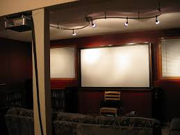 Lighting Design For Home Theater Bathroom Stylish Contemporary Home Theater With Can Lights
