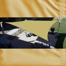 waterproof shade sail square shade sail sand beige 12 u0027 x 12 u0027