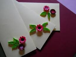 Flower Designs On Paper Simple Flower And Leaf Quilling Without A Quilling Tool 4 Steps