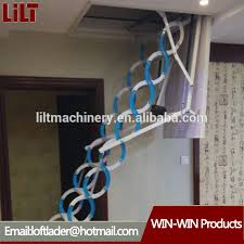 automatic electric telescopic loft ladder automatic electric
