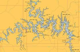 table rock lake map map of table rock lake the most beautiful lake of all time