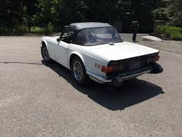1974 Triumph Tr6 For Sale By Weekend Rides