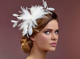 hair corsage hair corsage with feathers bb 300 k poirier