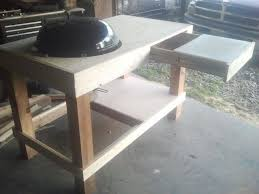 how to build a weber grill table cool how to build a weber grill table woodworking projects plans
