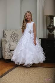 catholic communion dresses white communion dress with layered ruffles catholic