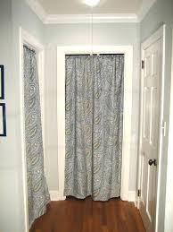 Door Way Curtains Curtain Instead Of Door Medium Size Of For Closets Without Doors