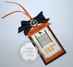 stampin up halloween stamps tags stampin u0027 by genny u0027s blog