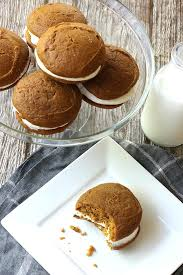 fluffy pumpkin spice whoopie pies recipe best friends for frosting