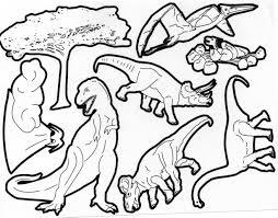 coloriage dinosaure les beaux dessins de animaux à imprimer et