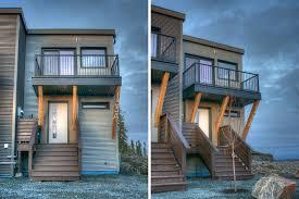 duplex homes yellowknife modular duplex smplymod inhabitat green design