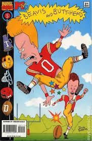 beavis and 1994 comic books