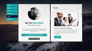 Wordpress Resume Themes Cards Personal Vcard Resume Cv U0026 Portfolio Wordpress Theme By