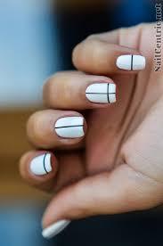 20 shockingly simple geometric nail art ideas you u0027ll love