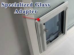doggie door in glass door maxseal in glass pet door from security boss manufacturing