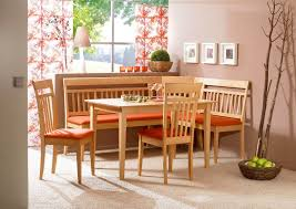 kitchen corner booth dining set with family diner breakfast nook
