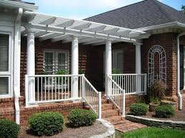 front porch awesome front porch design idea with round white