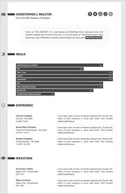 Resume Sample Format Download by 41 Html5 Resume Templates U2013 Free Samples Examples Format