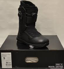 boots 36292 17 18 ride ninety two boa size 9 men s snowboard
