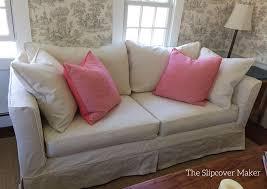 mitchell gold slipcovered sofa slipcover copy for mitchell gold sofa the slipcover maker