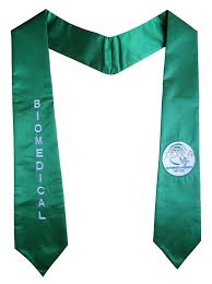 graduation scarf stoles with logo embroidery sash as low as 6 99 quantity