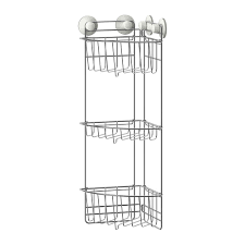 Bathroom Suction Shelves Immeln Shower Corner Shelf Three Tiers Ikea The Suction Cup Grips