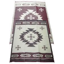 Outdoor Carpet For Rv by 9x12 U0027 Navajo Breeze Indoor Outdoor Reversible Rv Mat From