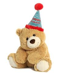 amazon com gund birthday teddy bear animated musical stuffed