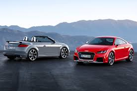 convertible gain de place audi tt rs coupe convertible charge into beijing with 394 hp