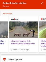 Bc Wildfire Global News by Nlpynn Natashapynn Twitter