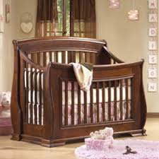 Convertible Sleigh Bed Crib Sleigh Convertible Crib By Opera Distribution Inc