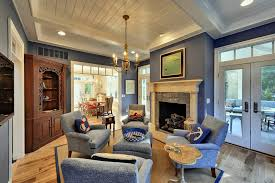 White Ceiling Beams Decorative by Sherwin Williams Straw Harvest Living Room Beach Style With