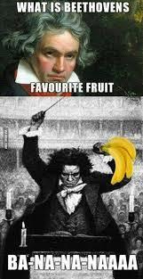 Beethoven Meme - what is beethoven s favorite fruit the annoying orange facebook