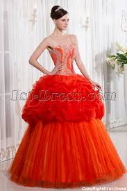 orange quinceanera dresses unique orange quinceanera dress 1st dress