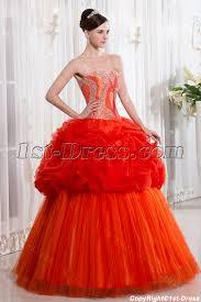 unique quinceanera dresses unique orange quinceanera dress 1st dress