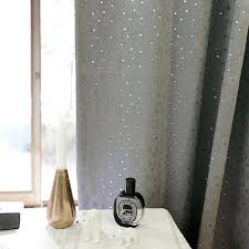 Light Silver Curtains Silver Blackout Curtain Found It At Lace Tulle Overlay Light