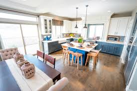 Walker Home Design Utah by Park House At Rosecrest Meadows Evergreen Kitchen 2 Oakwood Homes