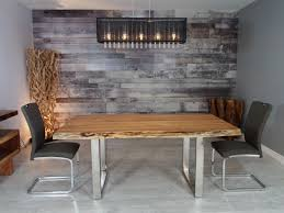 corcoran importation zen live edge acacia table stainless steel u