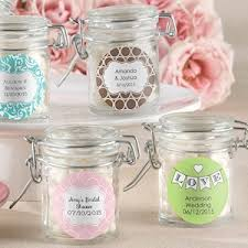wedding favors unlimited personalized glass wedding favor jars set of 12