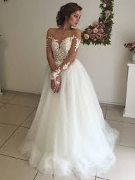 illusion neckline wedding dress sleeves lace illusion neckline wedding dresses bridal gowns 99603300